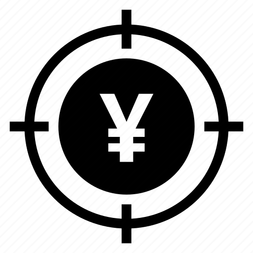 cash, currency, finance, focus, money, payment, target icon