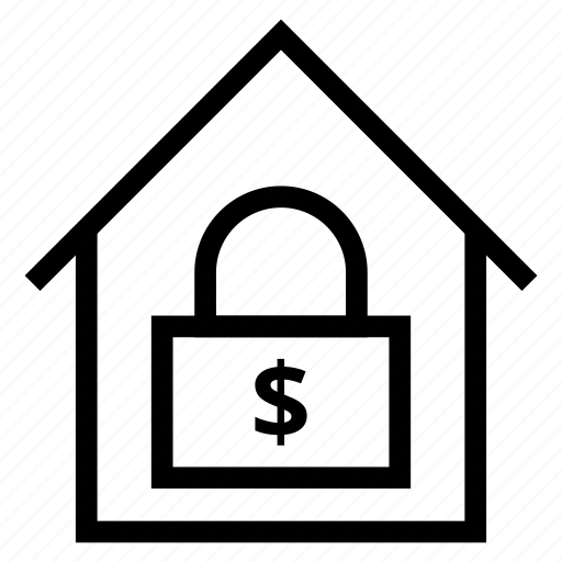 building, estate, homesecurity, house, houselock, lock, security icon