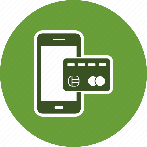 mobile banking, online banking, transaction icon