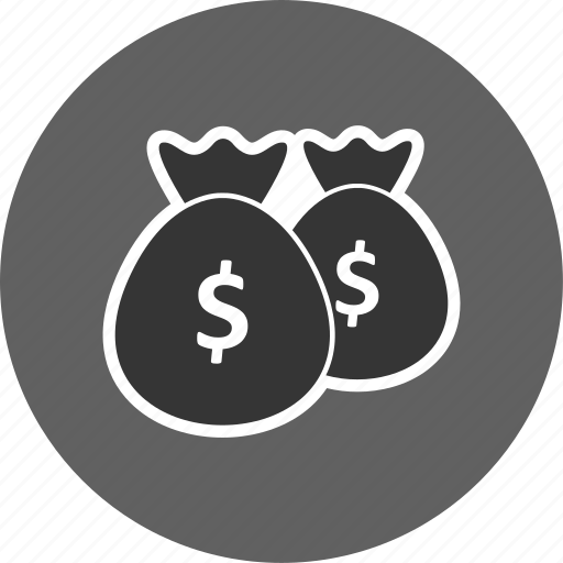 bags, banking, cash icon