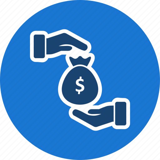 banking, bribe, finance, investment, payment icon