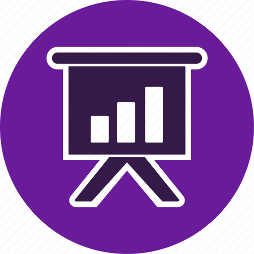 banking, business, graph icon