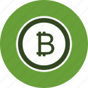bitcoin, business, crypto currency icon