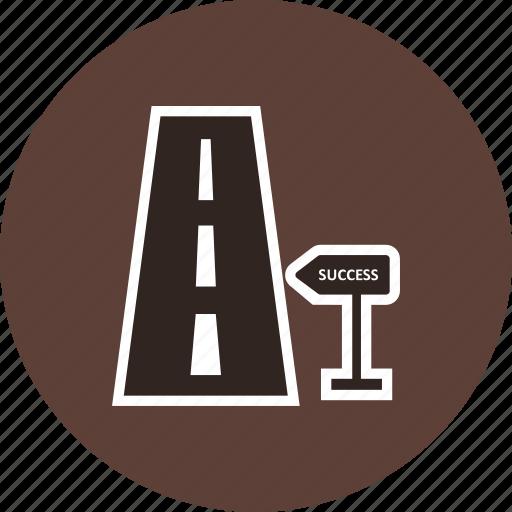 banking, milestone, road icon