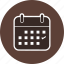 business, calendar, schedule icon