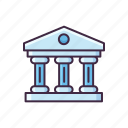 bank, banking, commercial, finance, money icon