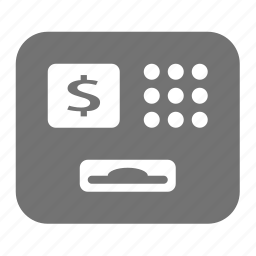 atm, banking, cash, money, transaction, withdraw icon