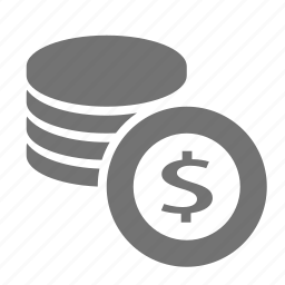 cash, coin, dollar, finance, money, stack, wealth icon