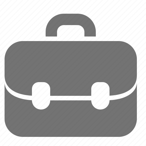 briefcase, business, finance, job, office, portfolio, work icon