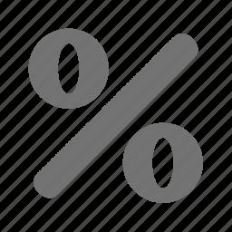 finance, interest, loan, money, percentage, rate, sale icon