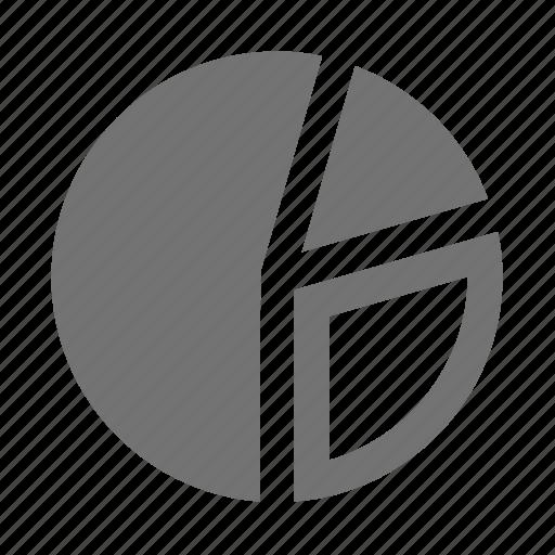 business, chart, graph, market, pie, slice, statistics icon