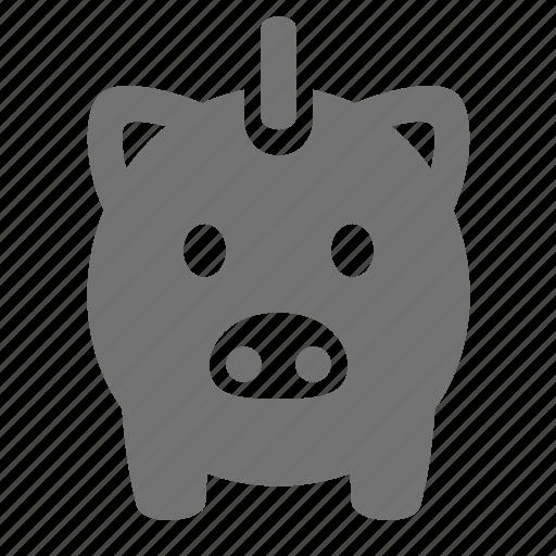bank, banking, deposit, finance, money, piggy, savings icon