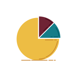 bank, banking, business, chart, diagram, graphic, percentage icon