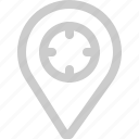 banking, app, icon, location, navigation, pin, gps
