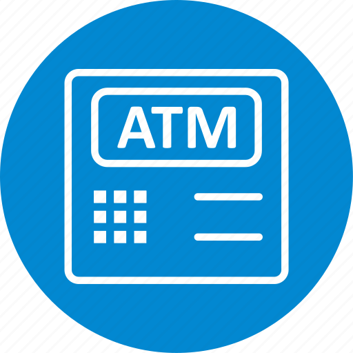 atm, atm machine, bank icon