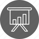 business, chart, office, presentation icon