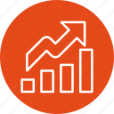 chart, graph, growth, profit icon