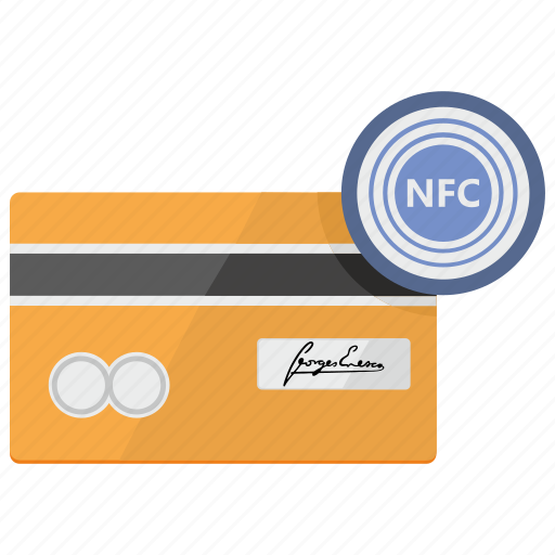 card, chip, credit, nfc, payment icon