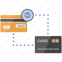 card, chip, client, connect, credit, nfc, payment icon