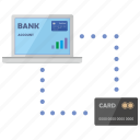 card, connect, credit, notebook, payment