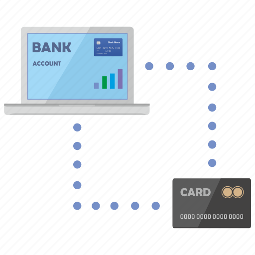 card, connect, credit, notebook, payment icon