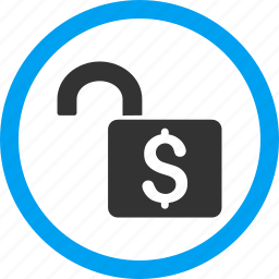 banking, open lock, private, safe, secure, unlock, unsafe icon