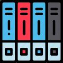 files, folder, storage icon icon