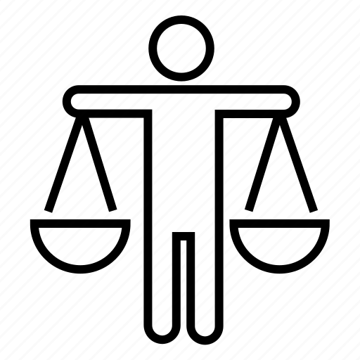 balance, bank, judgement, justice, law scales, weighing scales icon