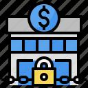bank, banking, economic, financial, lock
