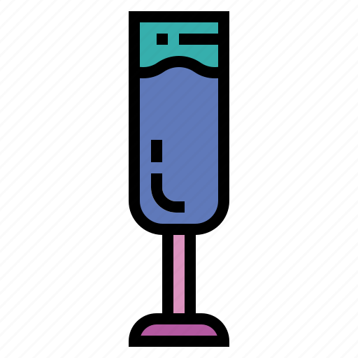 Champagne, drinks, food, glass icon - Download on Iconfinder