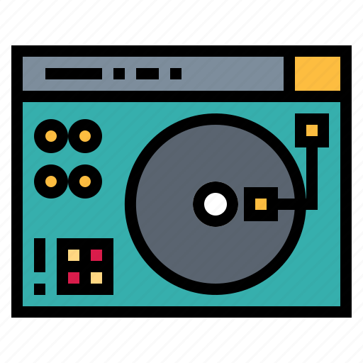 Electronics, player, record, turntable, vinyl icon - Download on Iconfinder