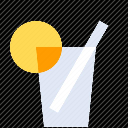 Alcohol, bar, cocktail, drink, drinks, glass, lemon icon - Download on Iconfinder
