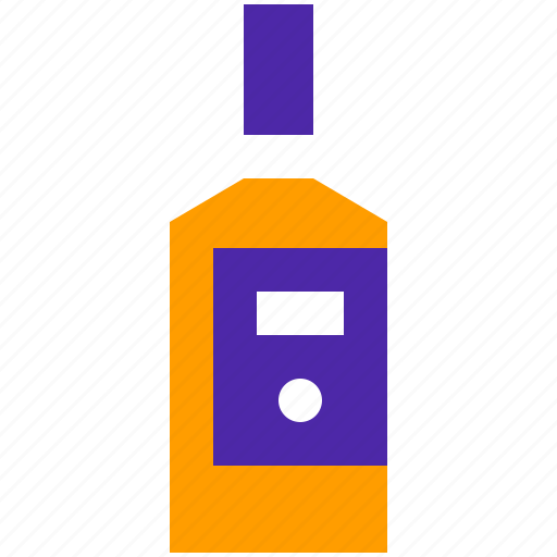 Alcoholic, bottle, drink, drinks, pub, rum, whisky icon - Download on Iconfinder