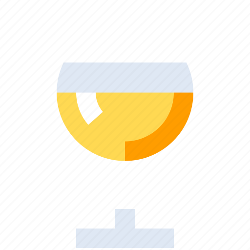 Alcohol, drink, glass, white, wine, wineglass icon - Download on Iconfinder