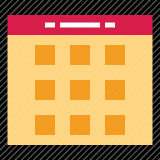 Calendar, date, organization, time icon - Download on Iconfinder