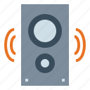 audio, multimedia, music, peaker icon