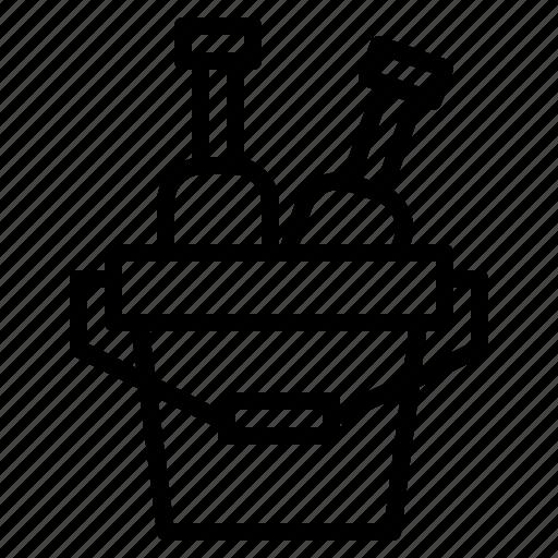 Bucket, drink, food, restaurant icon - Download on Iconfinder