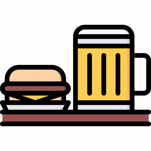 Bar Beer Burger Club Drink Food Pub Icon Download On Iconfinder