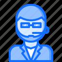 bar, club, glasses, man, microphone, pub, security icon