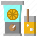 and, blender, electrical, food, furniture, household, restaurant icon