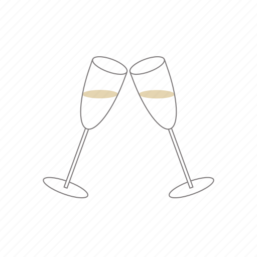 Bar, cocktail, drinks, champagne, cheers, drink, glass icon - Download on Iconfinder