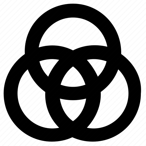 Circles, combination, overlap, shape icon - Download on Iconfinder