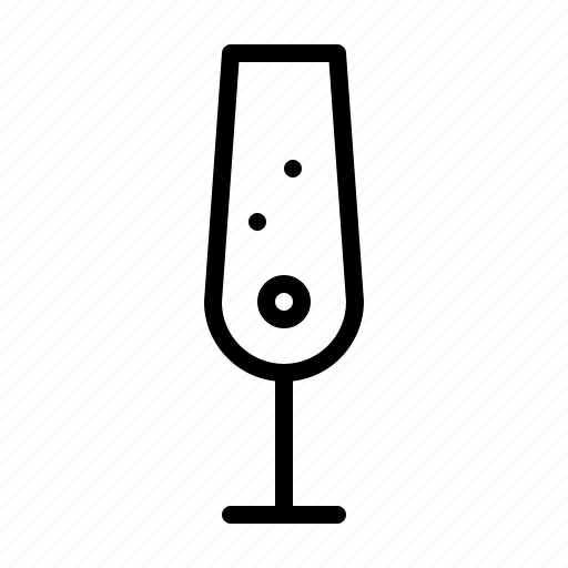 bar, champagner, club, drink, glass, restaurant icon