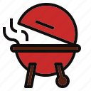 barbecue, bbq, grill, hot, stove icon