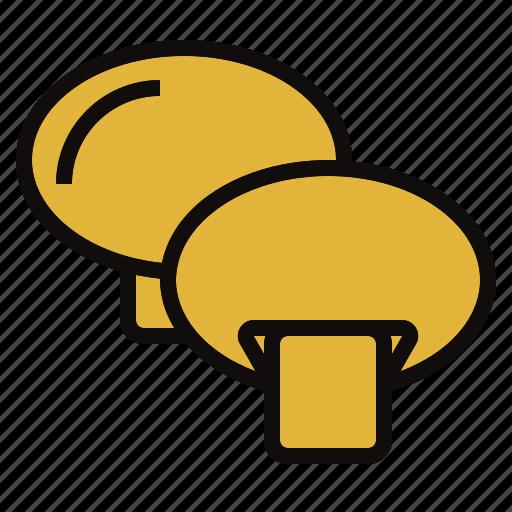 champignon, cook, grill, vegtable icon