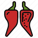 capsicum, chili, pepper, plant icon