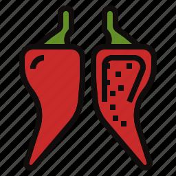 capsicum, chili, pepper, plant icon