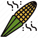 corn, farm, grain, grill, maize icon