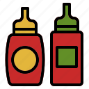 barbecue, bbq, bottle, ketchup, sauce icon
