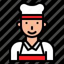 avatar, chef, job, person, profession icon